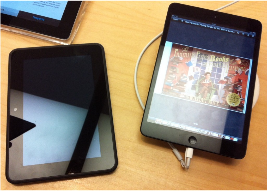 iPad mini o Kindle Fire HD